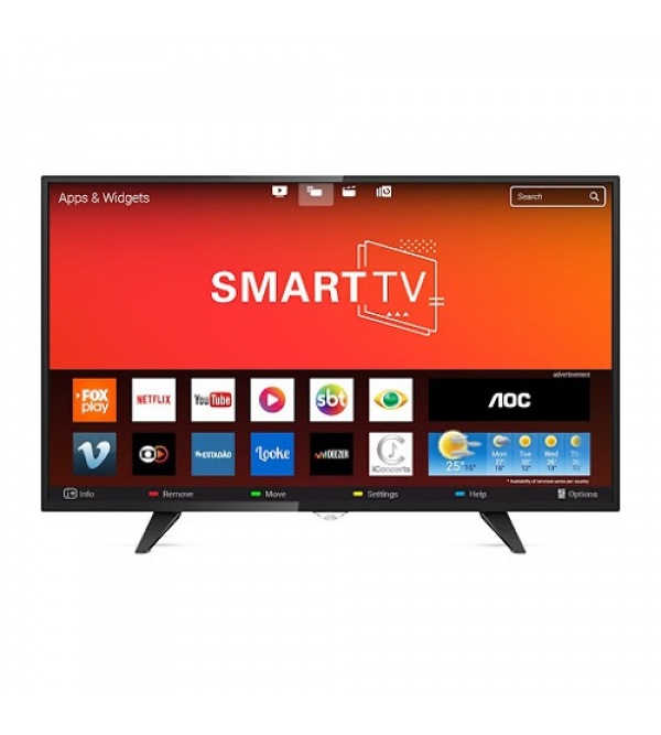 TV AOC 43P 43S5195 SMART ROKU AOC