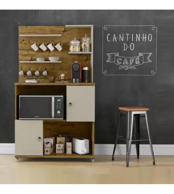 CANTINHO DO CAFE PATRIMAR ACON NAT/OFF WHITE
