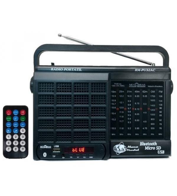 RADIO MOTOBRAS RM-PU32AC 7FXS MOTOBRAS