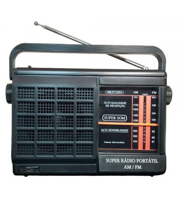 RADIO MOTOBRAS RMPFT22AC 2FXS MOTOBRAS