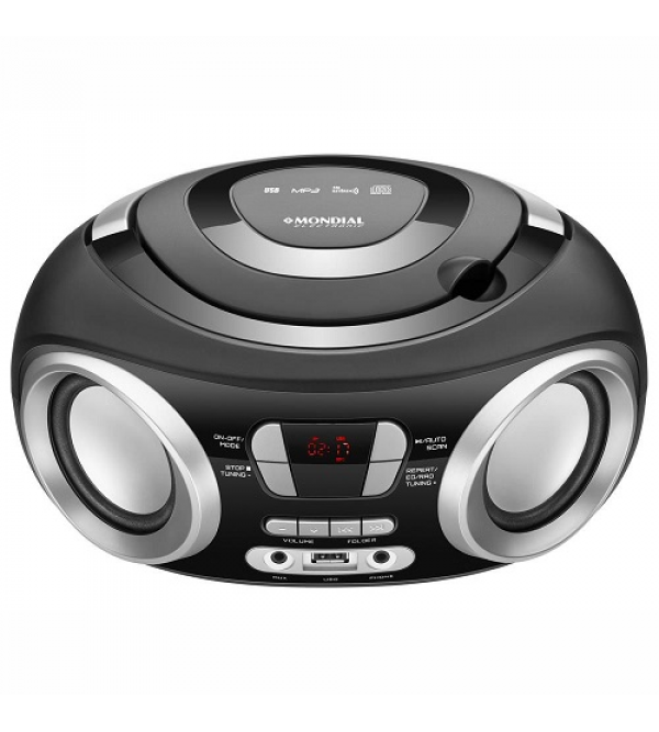 RADIO MONDIAL NBX13 BOOMBOX UP BLACK MONDIAL